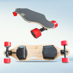 Wholesale Hub Motor Remote Control Four Wheel Electric Longboard Skateboard pictures & photos