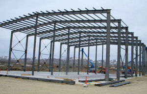 Construction Morden Design Low Cost Poultry Farm Steel Structure Shed pictures & photos