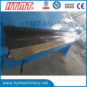 WH06-2.5X2040 manual steel pan box folding forming bending machine pictures & photos