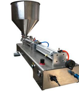 Filling Machine Labeling Machine Semi Auto Filling Machine Pneumatic Juice Liquid pictures & photos