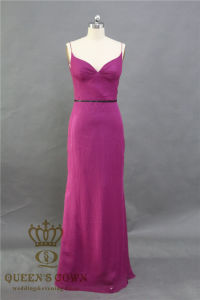 High Quality New Design Real Sample Women Party Dress Evening Bridesmaid Dress