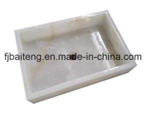 Rectangular White Jade Stone Basin pictures & photos