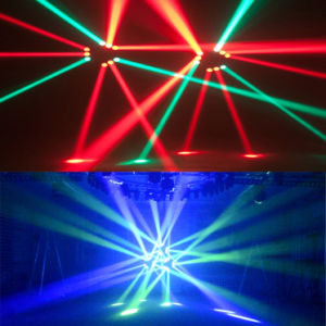Stage Disco Party 9PCS RGBW LED Spider Moving Head Beam Light pictures & photos