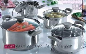 Single Cookware Set with 5 Step pictures & photos