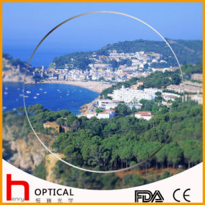 Semifinished 1.56 Spin Coating Photochromic Optical Lens pictures & photos