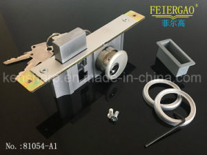Good Price Door Lock with Safety Metal Lock Body/Sliding Lock 81054-A1 pictures & photos
