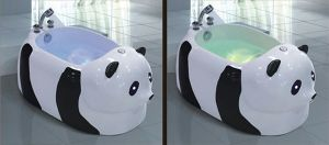 Panda Shape Massage Bathtub SPA with Ce and RoHS Special for Baby (AT-LW110) pictures & photos