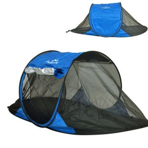 Free-Standing Instant Pop-up Mosquito / Bug Tent with Upf 100+ Removable Ceiling