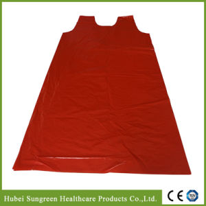 PE Vest Apron, PE Smock, Disposable Plastic Vest Gown pictures & photos