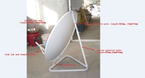 Satellite Dish Ku Band Antenna with 45cm pictures & photos