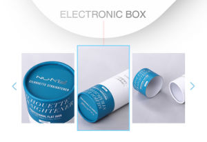 Functional Simple Paper Electronic Salon Product Package Tube Box pictures & photos