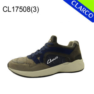 Men Sports Running Shoes with Imitation Leather and Phylon Sole pictures & photos