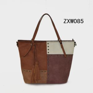 2017 Guangzhou New Fashion Multi Color Women PU Tote Handbag pictures & photos