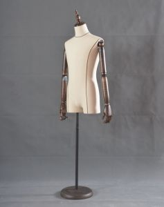 New Male Half Body Mannequin with Linen Wrapped pictures & photos
