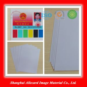 Silver PVC Inkjet ID Card Making Material pictures & photos