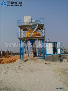 Hzs60 Concrete Mixing Plant Bucket Type