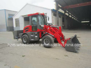 Hzm916 1.6ton Zl16 916 Small Mini Backhoe Wheel Loader pictures & photos