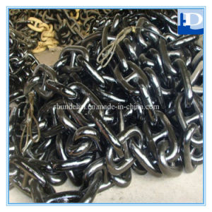 Marine Stud Link Anchor Chains for Ship with Kenter Shackle pictures & photos