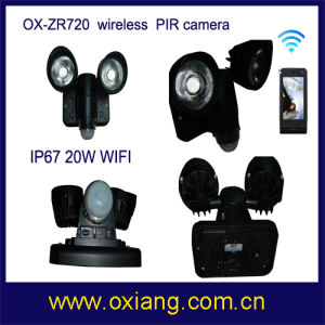 Waterproof WiFi PIR Light Camera pictures & photos