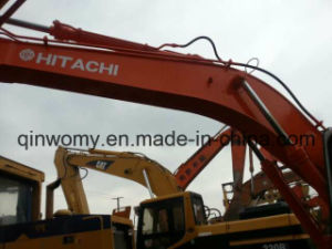 Japan 0.5~1.0cbm/20ton Original-Yellow 2003~2006 Backhoe/Hydraulic Used Hitachi Ex200 Crawler Excavator pictures & photos
