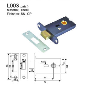 Latch for Door Locks (L004) pictures & photos