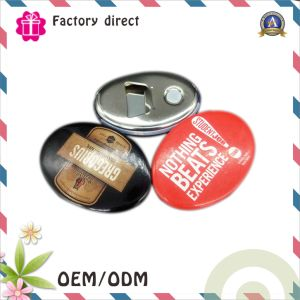 OEM Tin Bottle Opener Fridge Magnet / Round Bottle Opener with Magnet / Gift Opener pictures & photos