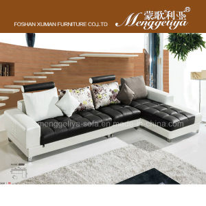 Top Grain Leather Leisure Sofa (668#)