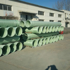 Low Price High Pressure Polyester GRP FRP Pipe Factory pictures & photos