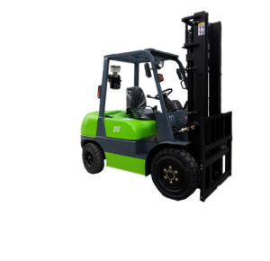 3 Meters with Solid Tires Forklift pictures & photos