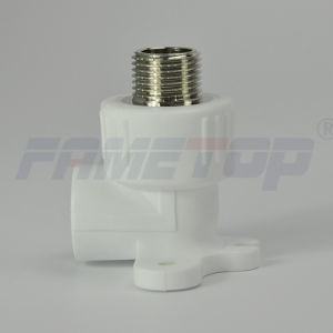 Wall Plated Male Ebow PPR Fitting for Hot Water pictures & photos