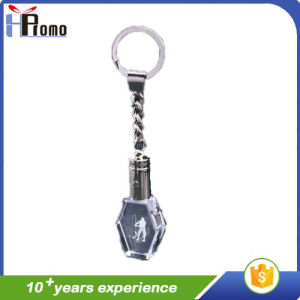 3D Laser Crystal Key Chain pictures & photos