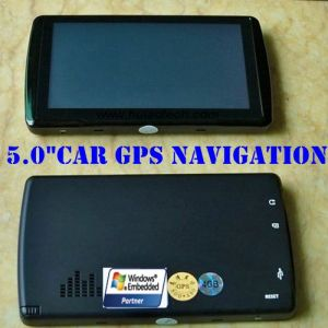 "2016 New 5.0"" Car Portable GPS Navigation Device Support New Navitel Map and New Igo Map pictures & photos"