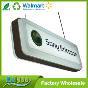Custom Different Size Outdoor Square Plastic Suction Light Box pictures & photos