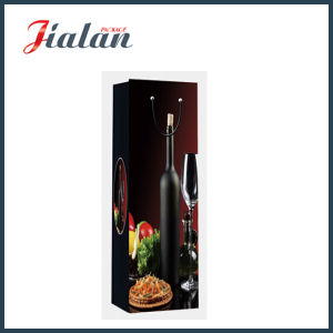 Customize with UV Wine Bottle Packaging Paper Shopping Gift Bags pictures & photos
