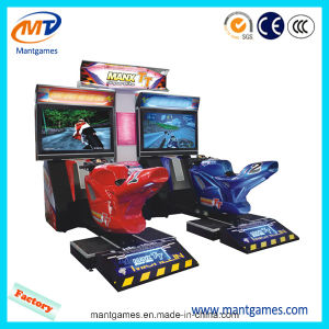 Coin Operated Motor Racing Game Machine Tt Moto pictures & photos
