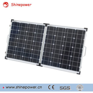 100W Mono Portable Folding Solar Panel for Camping. pictures & photos