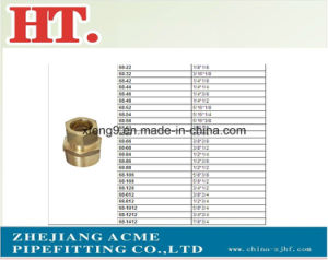 American Forged Brass Comp Male Connector Fitting with Nut pictures & photos