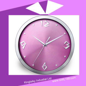 Customized Steel Wall Clock in Roman numeral PC-002 pictures & photos