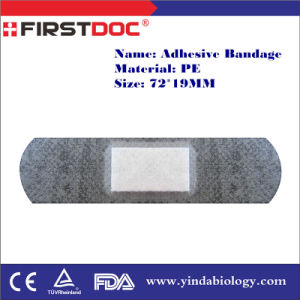 High Quality OEM 72*19mm PE Material Transparent Color Adhesive Bandages pictures & photos