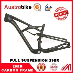29er Frame Full Suspension MTB Carbon Fiber Frame MTB Frame 29 pictures & photos