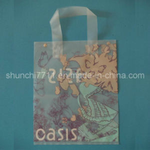 PE Printing Shopping Bag with Loop pictures & photos