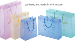 Fashion Promotional Plastic Shopping Bags with String Handle(Gift Bag) pictures & photos