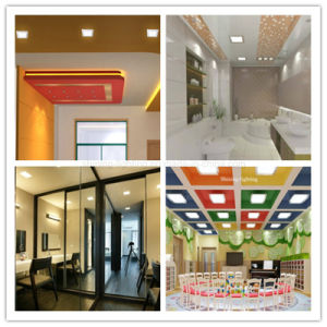 New Square Wholesale China 18W Home Lighting Lamp SMD2835 Ultrathin LED Light Ceiling Panel pictures & photos