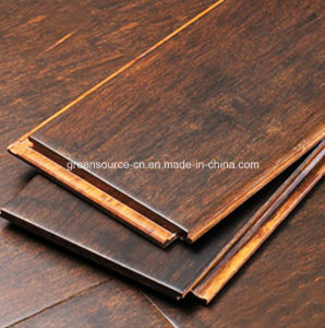 Stained Bamboo Flooring / Bamboo Floor pictures & photos