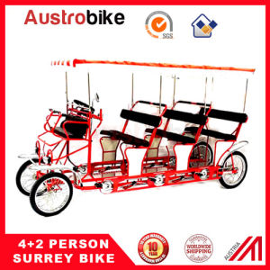 8 Person Bike with Roof Baby Seat