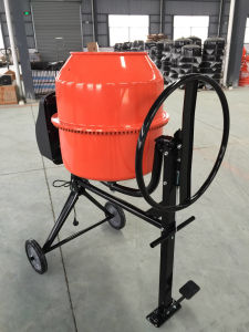 Concrete Mixer with Pedal to Adjust The Degree