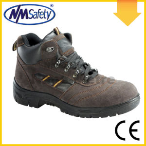 Nmsafety Comfortable Suede Leather Woodland Work Safety Shoes pictures & photos