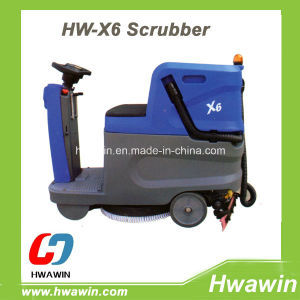 Battery Electric Ride on Floor Washing Scrubber Machine pictures & photos