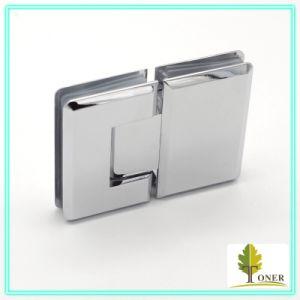 Square Bevel Edge 180 Degree Shower Door Hinge/ Brass Hinge pictures & photos