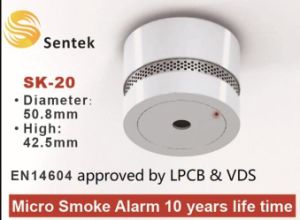 Hot Sale Standalone Mini Smoke Detector pictures & photos